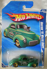 Hot Wheels Custom '41 Willys Coupe Green K-Mart Days NEW