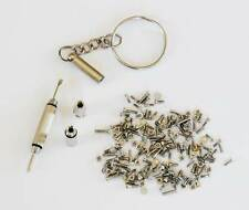 4 in 1 Screwdriver & Screws Eyeglass Sun Glasses Nut Washer Repair Tool Kit Set