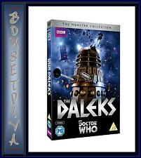DOCTOR WHO - THE MONSTERS COLLECTION - THE DALEKS **BRAND NEW DVD **