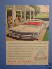November 1959 Reader's Digest Ad for 1960 Pontiac
