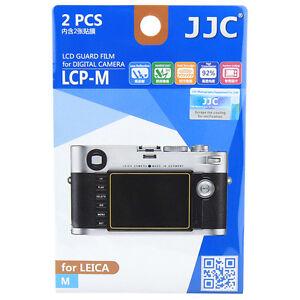 JJC LCP-M LCD Guard Film Camera Screen Display Protector for LEICA M Series DSLR