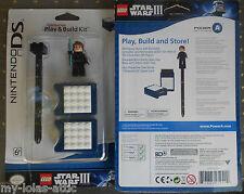 NINTENDO DS DSi XL LEGO Star Wars III Play Build & Store Kit + ANAKIN Minifigure