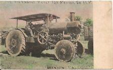 Big Engine Built For Mexico Boynton PA Postcard 1906