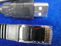 1pcs APC Signaling UPS USB to RJ45 RJ50 Router PC Cable ay