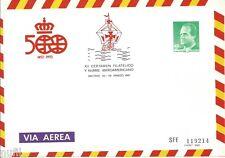 Sobre Entero Postal Edifil # 7 certamen Filatelico y N. Iberoamericano Madrid