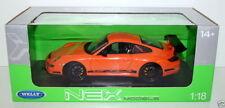 Véhicules miniatures orange pour Porsche 1:8