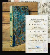 1806 Nerven der Frauen Nervenkrankheiten Hypochondrie Gicht Wolff
