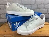 ADIDAS MENS UK 8 EU 42 STAN SMITH GREY WHITE TRAINERS AD