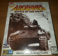 100% Complete BATTLEGROUND ARDENNES Battle of the Bulge Big Box PC CD Windows 95