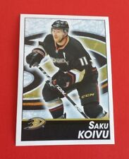 2013/14 Panini Hockey Saku Koivu Sticker #179***Anaheim Ducks***