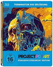 Blu-ray * Terminator 4 - Die Erlösung - Steelbook - Pop Art * NEU OVP