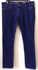 "Women's 17 Avg Dk. Blue Arizona Jeans Super Skinny 30"" In Cotton Blend Pre-Owned"