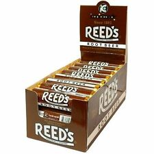 Reed's ROOT BEER Candy Rolls are back! Box of 24