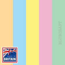 A5 Premium Papago Pastel Tinted Crafting Card 240gsm - All Quantities & Colours