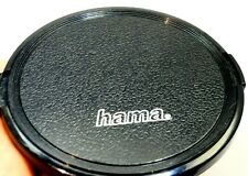 HAMA 82mm Black Plastic Front Lens Cap Snap On