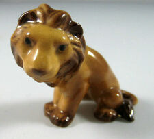 Hagen Renaker miniature made in America Lion seated retired