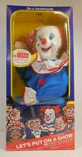 VINTAGE BOZO THE CLOWN VENTRILOQUIST DOLL 1990 SEALED NEW GOLDBERGER