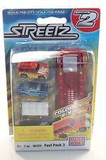 MEGA BLOKs Streetz Fast Pack Series 2 SET 96428 Color F/X race car jeep mini NEW