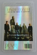 UNDEROATH LAMINATED BACKSTAGE PASS LOST IN THE SOUND OF SEPARATION TOUR
