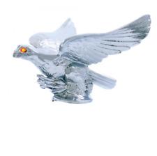 Eagle with Illuminated Eyes Chrome Hood Ornament