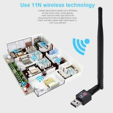 600M USB 2.0 Wifi Router Wireless Adapter Network LAN Card 5 dBI Antenna for PC