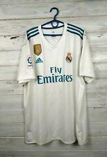 Real Madrid Jersey 2017 2018 Home Xl Shirt Adidas Football Soccer Az8059