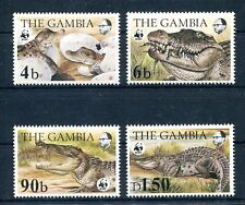 Gambia 517/20 postfrisch / WWF - Krokodile ...............................2/1737
