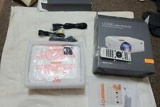 Apeman LC550 Mini Video Projector 4000 Lumen 1080p Supported HDMI VGA USB, SD