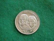STAR TREK GENERATIONS WORF CRUSHER LIBERIA CROWN 1996 DOLLAR BU FREEPOST