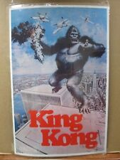 Vintage Poster KING KONG the Movie 1976 Inv#1086
