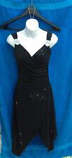 AB Lambdin- Little Black Dress - Wrap tank - Rhinestone - NWT - XXL - EB18
