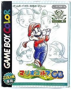 [JAP] Mario Golf - Jeu Nintendo Game Boy Color - NTSC-J