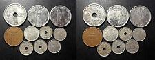 Norvège - Haakon VII - x10 monnaies de 1939 à 1957