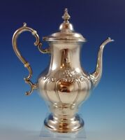 Chantilly by Gorham Sterling Silver Coffee Pot Countess Hand Chased (#2350)