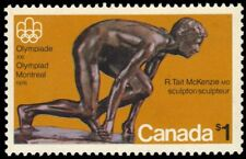 "CANADA 656 - Olympics ""The Sprinter"" Hibrite Paper (pf15804)"