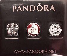 Authentic Pandora Christmas Wonder Petite Charms W/ Pandora BOX & TAG #792023CZ