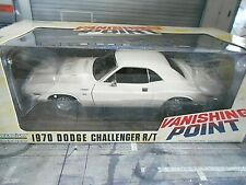 DODGE Challenger R/T 1970 white Filmauto Muscle V8 Vanishing P Greenlight 1:18