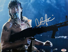 Charlie Sheen Autographed 11x14 Hot Shots Signed Photo - PSA/DNA