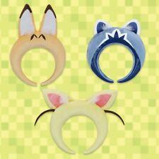 Kemono Friends Hair Band with Ear Set of 3 Serval Fennec Raccoon Kemofure