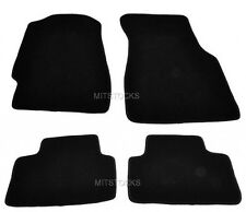 FIT FOR 92-95 HONDA CIVIC 2 / 3 / 4 DOOR BLACK NYLON CARPET FLOOR MATS 4 PIECES