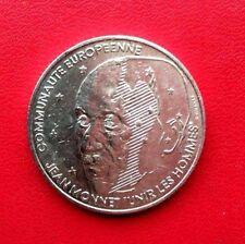 MONNAIE DE 100F JEAN MONNET 1992 EN ARGENT MASSIF 900%