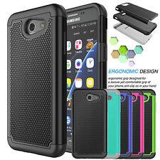 For Samsung Galaxy J3 Luna Pro / J3 Emerge /J3 Shockproof Armor Hard Case Cover