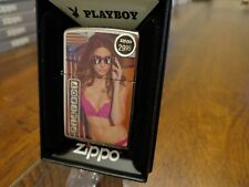 PLAYBOY BUNNY WITH SUNGLASSES ZIPPO LIGHTER MINT IN BOX