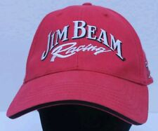 Jim Beam Racing Adjustable Red Hat Cap Robby Gordon Motorsports #7 NASCAR GUC