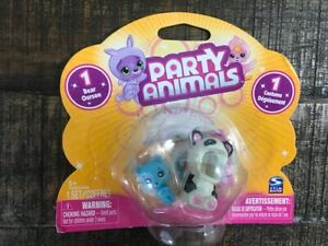 Party Animals 1 Mini Bear & 1 Costume Dangler Spin Master FROM 2010