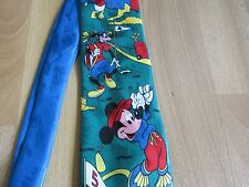 Disney MICKEY Mouse Goofy & Daffy Duck Playing GOLF Tie by Marks & Spencer