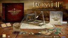ROME TOTAL WAR II 2 COLLECTOR'S EDITION PC BOX INGLESE GIOCO ITALIANO
