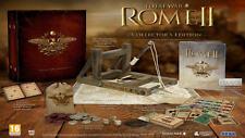 ROME TOTAL WAR II 2 COLLECTOR'S EDITION PC BOX INGLESE GIOCO ITALIANO