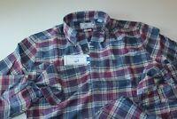 Southern Tide Shirt Pisgah Plaid Blue Night 2182 Classic Fit New LS Medium  M