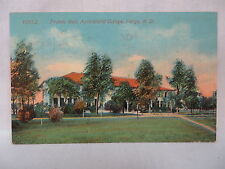 VINTAGE POSTCARD FRANCIS HALL AT THE AGRICULTURAL COLLEGE IN FARGO NORTH DAKOTA
